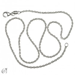 Rope chain 1.6mm - 925 silver
