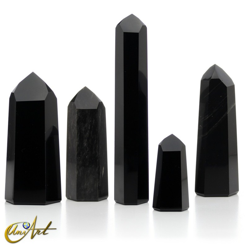 black obsidian tips