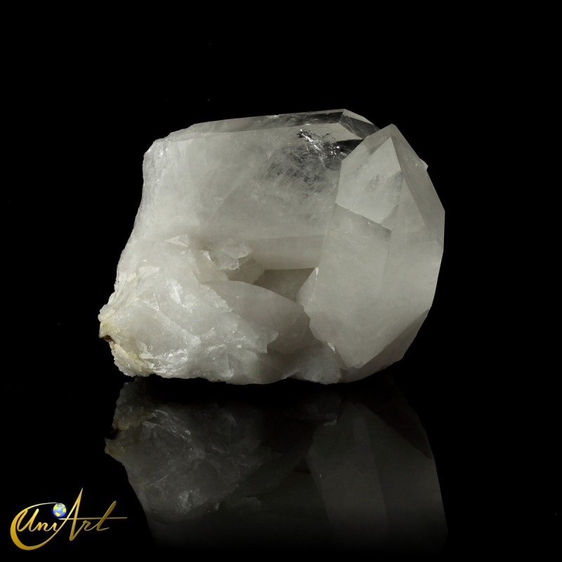 Crystal quartz druse