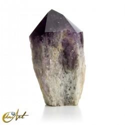 Gran cristal de amatista en bruto