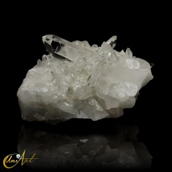 Pretty crystal quartz druse