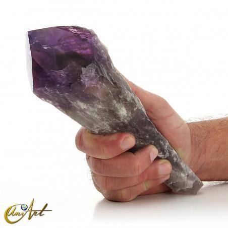 Ejemplo de cetro de amatista - 850 gramos