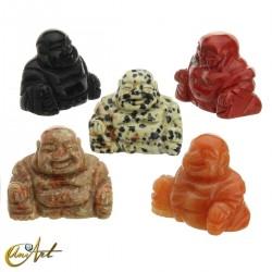 Buda Feliz en piedra natural