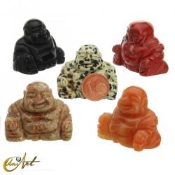 Natural stone Happy Buddha