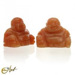 Orange Aventurine Happy Buddha