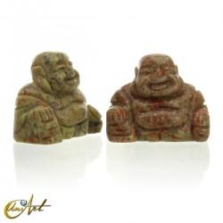Unakite Happy Buddha