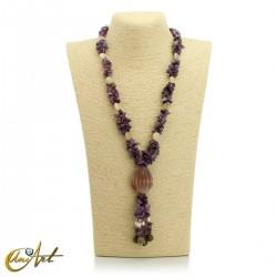 Amethyst necklace diferents models
