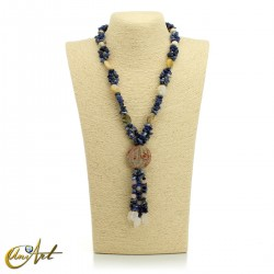 Sodalite necklace - different models