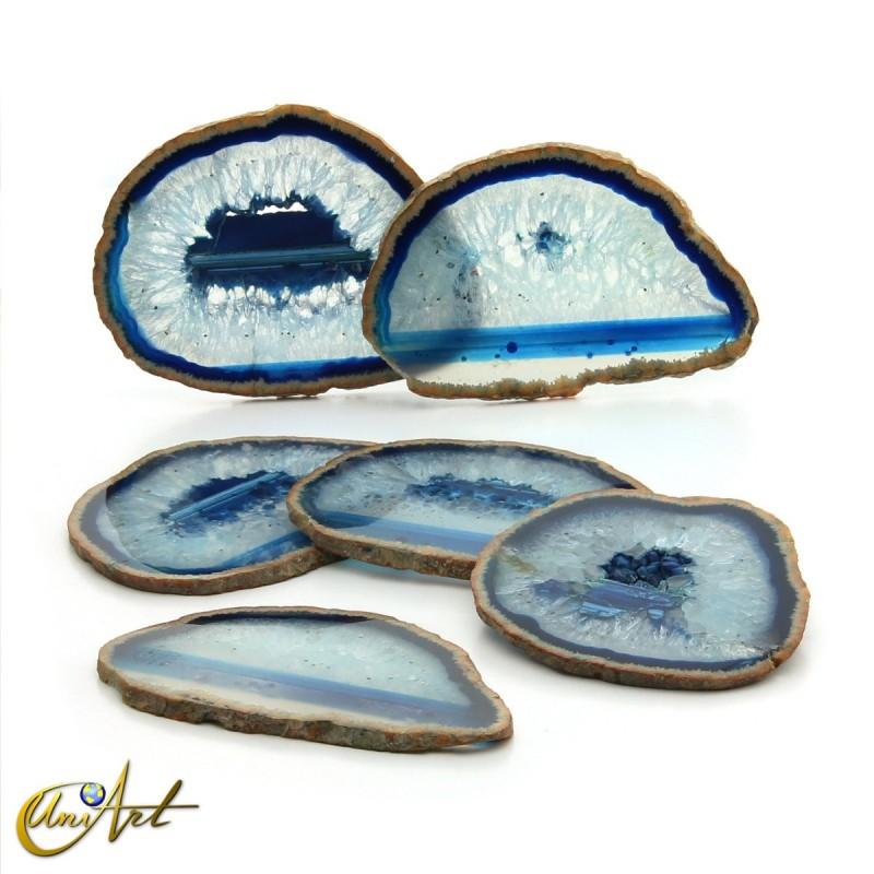 Ágata azul - conjunto de chapas - modelo 2