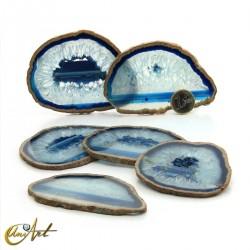 Blue agate - Set of sheets, model 2