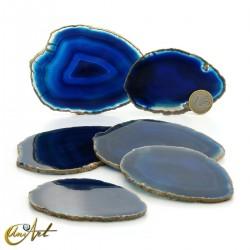 Blue agate - Set of sheets, model 3
