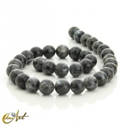 Natural labradorite 12 mm beads
