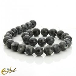 Natural labradorite 14 mm beads