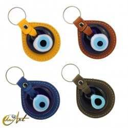 Turkish evil eye keychain against to the evil eye