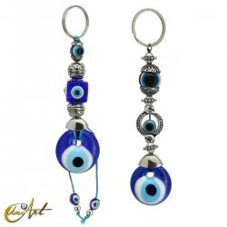 Llavero amuleto ojo turco