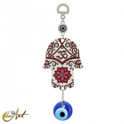 Metal hand with the Turkish evil eye, model 4