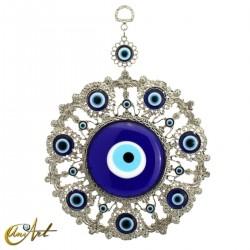 Amuleto de metal con el ojo turco, modelo 3
