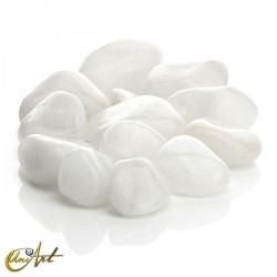 Cuarzo blanco - bolsa de cantos rodados 200 gramos