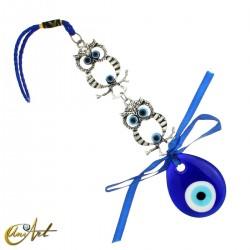 Evil Eye Amulet owl model