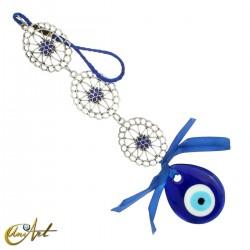 Evil Eye Amulet oval model