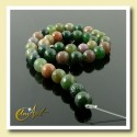Indian Agate Bead - 10 mm Round faceted