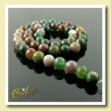 Indian Agate faceted Bead - 8 mm Round