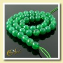 Green Agate faceted Bead - 8 mm Round