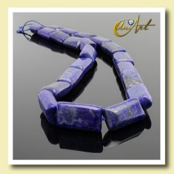 Rectangle lapis lazuli beads