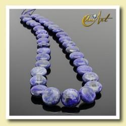 Lapis Lazuli - lentils 12mm