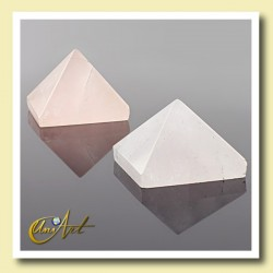 1.5 cm rose quartz pyramid