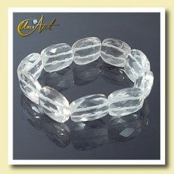 Bracelet of crystal  briolette beads