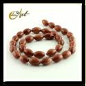Sandstone olive carving beads