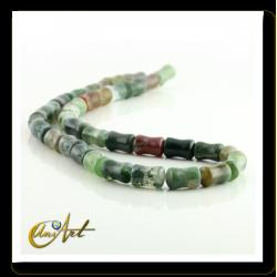 Indian agate bone shape beads