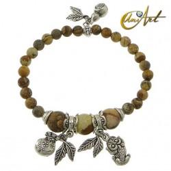 Picture Jasper money bracelet