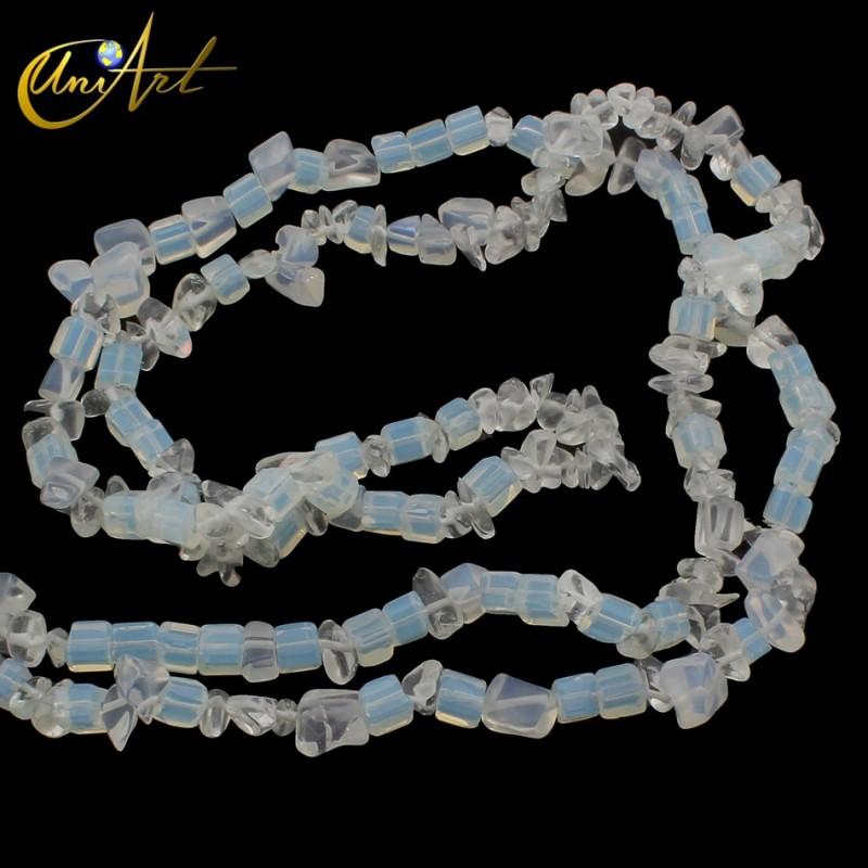 Sea opal glass chips