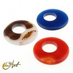Donut pendant 4 cm