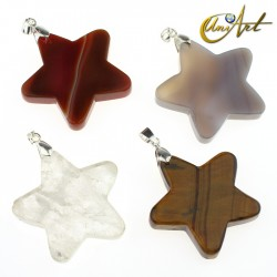 Star pendant of Natural Stone