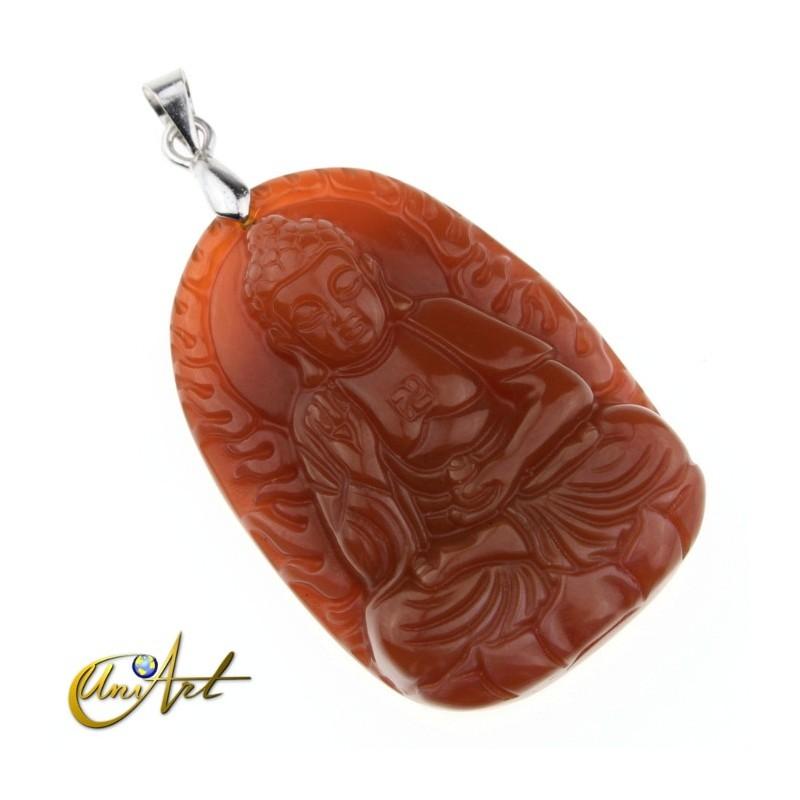 Tibetan Buddha pendant
