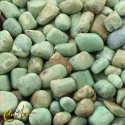 Zoisite ruby tumbled stones in packet of 200 grs