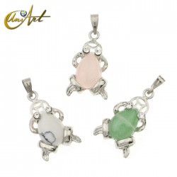 Lucky frog pendant
