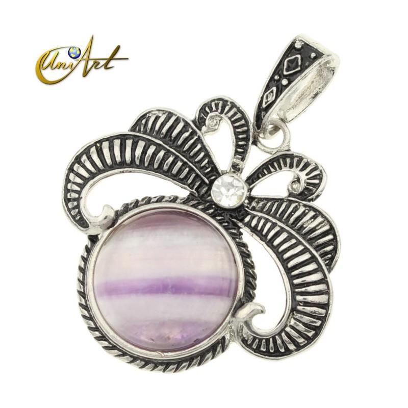 Vintage amethyst pendant