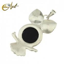 Owl, pendant
