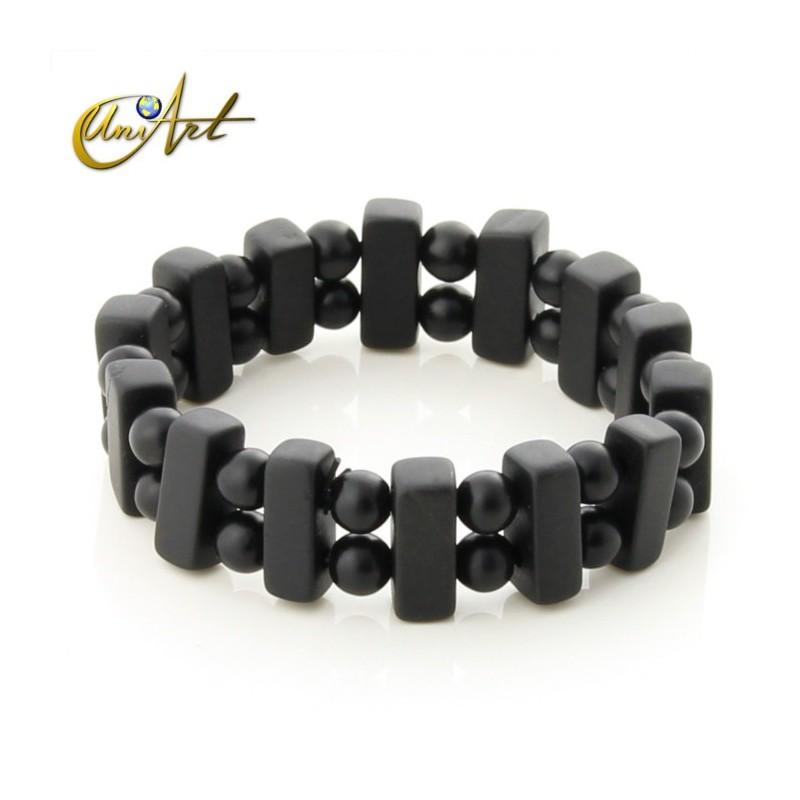 Double bian stone bracelet