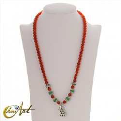 Money carnelian necklace bracelet