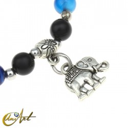 Multilayer bracelet - elephant
