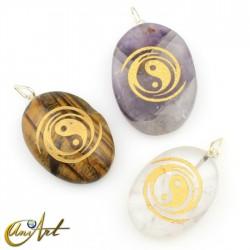 Colgante Yin y Yang en Piedra Natural