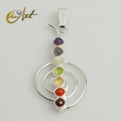Cho Ku Rei chakras pendant