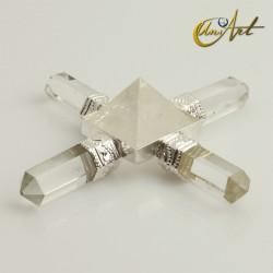 Generador Reiki de cuarzo cristal