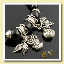Onyx money bracelet
