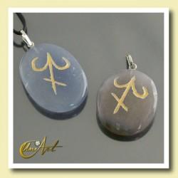 Zodiac stones : Sagittarius - Chalcedon